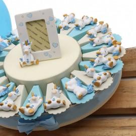 Torte Bomboniera Primo Compleanno Unicorno Dormiglione Bimbo Magnete