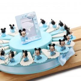 Torta Bomboniere Disney Portachiavi Topolino Bimbo Nuvola