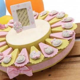 Torta Bomboniera Nascita...