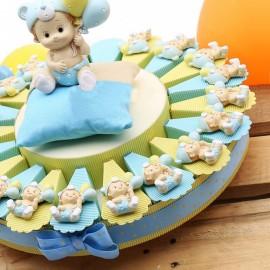 Torta Bimbo con Palloncini Magnete