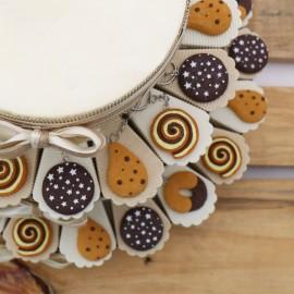 Torta Bomboniere Compleanno Dolcetti con Portachiave Confettata