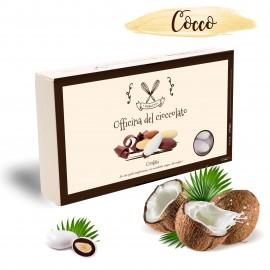 Confetti Officina del Cioccolato COCCO con mandorla tostata e crema