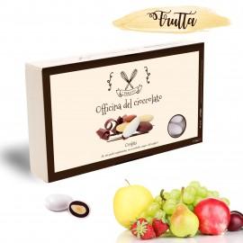 Confetti FRUTTA alla Mandorla Officina del Cioccolato