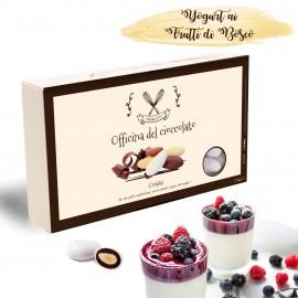 Confetti YOGURT AI FRUTTI DI BOSCO alla Mandorla Officina del Cioccolato