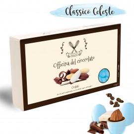 CONFETTI Classici Celeste con Mandorla e Cioccolato per Nascita Bimbo