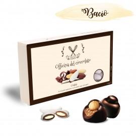 Confetti ripieni alla crema gusto Bacio Officina del Cioccolato