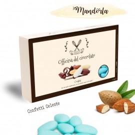 CONFETTI Celeste con Mandorla Officina del Cioccolato