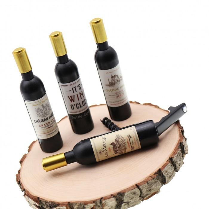 Bomboniere Vino Matrimonio.Bottiglia Di Vino Cavatappi Bomboniere Utili Matrimonio