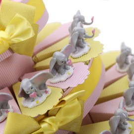 Statuina Piccola Dumbo Torta Bomboniere Battesimo