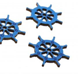 Timone Blu Applicazioni in legno Fai da Te