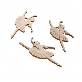 Ballerina Applicazioni in legno Fai da Te