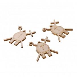 Simbolo Cresima Applicazioni in legno Fai da Te