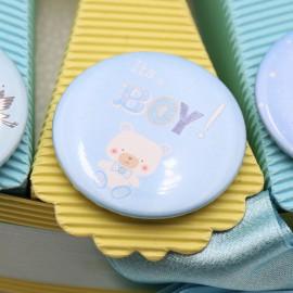Bomboniere Personalizzate Magnete con Orsetto per la Nascita di un Bambino