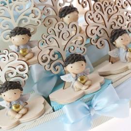 Torta Bomboniere Albero della Vita il Cuore degli Angeli Bimbo