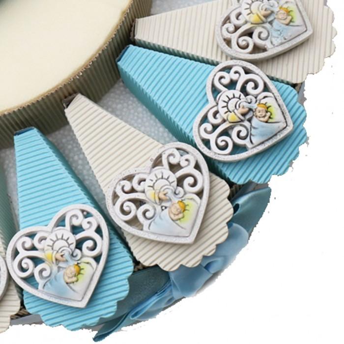 Torte Sacre Bomboniere per Battesimo Alzatina Confettata ...