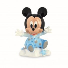 Bomboniere Nascita Primo Compleanno Disney Statuina Topolino Baby Nascita