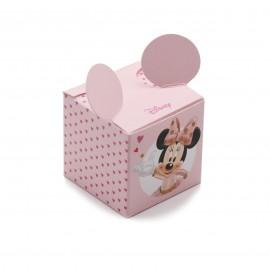 Astuccio Portaconfetti Disney Minnie Bomboniera per Primo Compleanno