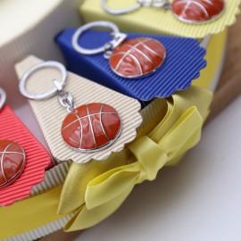 Torta Bomboniere Pallone da Basket Portachiavi