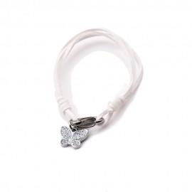 Bomboniere Nascita mini Ciondolo Farfalline Glitter Silver