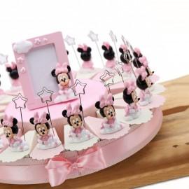 Torta Bomboniere Disney Memoclip Minnie Bimba Nuvola