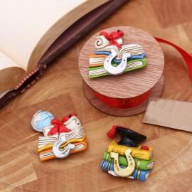 Bomboniere Laurea Faidate Libroni Interessanti Magnete Handmade