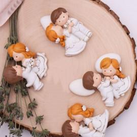 Bomboniera Calamita Coppie di Sposi Matrimonio Faidate Segnaposto