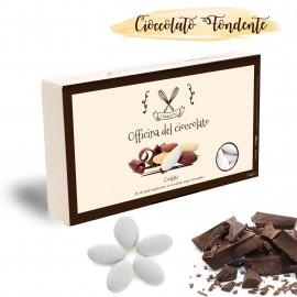 Confetti Cioccolato Fondente Bianchi per Confettata Comunione, Battesimo, Nascita o Matrimonio