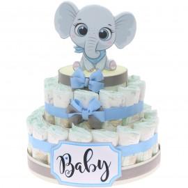 Torta Elefante effye bimbo 30 PEZZI