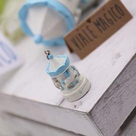 VialeMagico Bomboniere Battesimo Faidate Carillon Bimbo Portachiavi Kit 12 PZ
