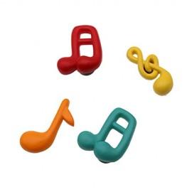 Bomboniere Compleanno FaiDaTe Note Musicali Colorate Magnete (Kit 12 Pezzi) 1109M