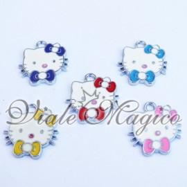 Bomboniera Compleanno Ciondolo Hello Kitty x Portachiavi Collane Bracciali