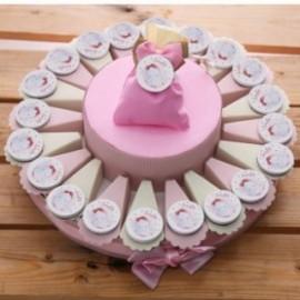 Torta Bomboniere Personalizzate Elefantino Bimba