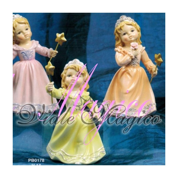 Bomboniera Navel Principesse con Bacchetta Magica