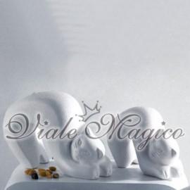 Gatti Tigre in ceramica creazioni Profili of Art