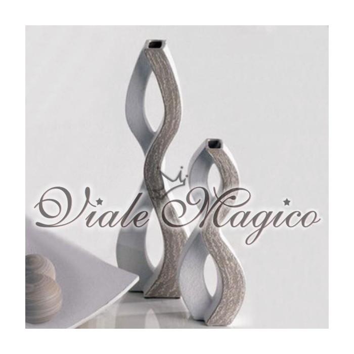 Set di due Vasi Scultura Design Profili of Art