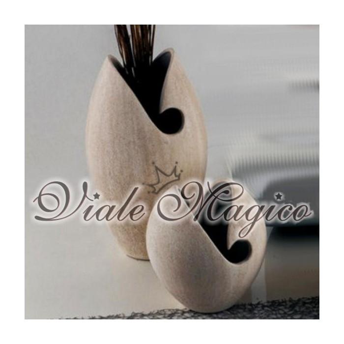 Set di due Vasi in Ceramica Design Profili of Art