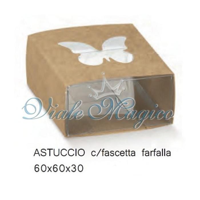 Bomboniere Fai Da Te Portaconfetti Astuccio con Farfalla Confettata Sacchetti