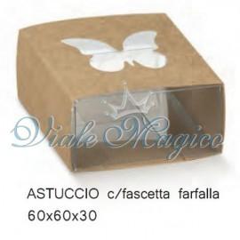 Portaconfetti Astuccio con Farfalla