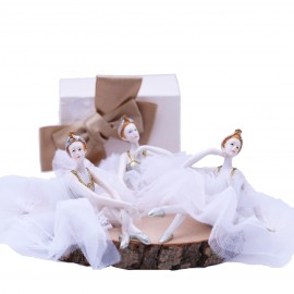 Statuina Maxi Ballerina La Scala Bomboniere Confezionate