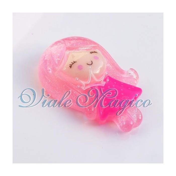 Bomboniere Materiale Faidate Bimba Rosa per Decorazioni e Applicazioni 50 Pezzi