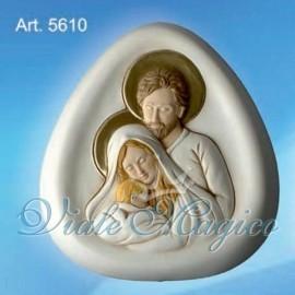 Bomboniera Sacra Famiglia con Profilato Oro Taruschio