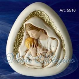 Bomboniera Madonnina con Bimbo Taruschio Ceramiche