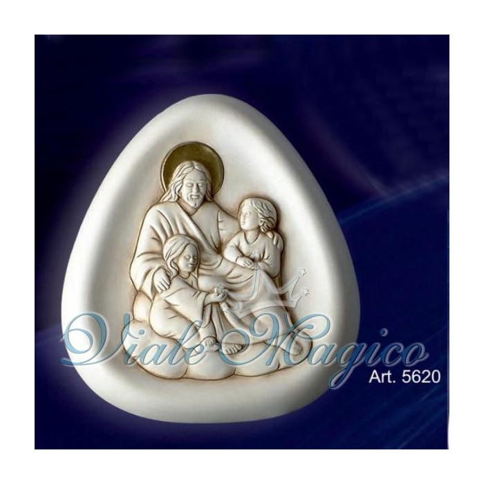 Bomboniera Icona Gesù con Bambini Taruschio