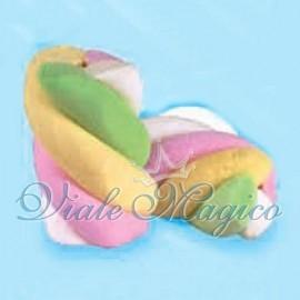 Marshmallow Bulgari Estruso Treccia Colorata Gusto Frutta