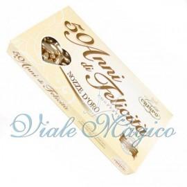 Confetti Crispo Pelata Oro per le Nozze D'Oro da 500 g