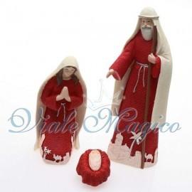 Maxi Presepe Rosso Sacra Famiglia