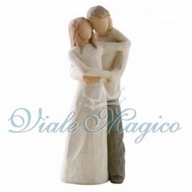 Statuina Insieme per la vita per Matrimonio