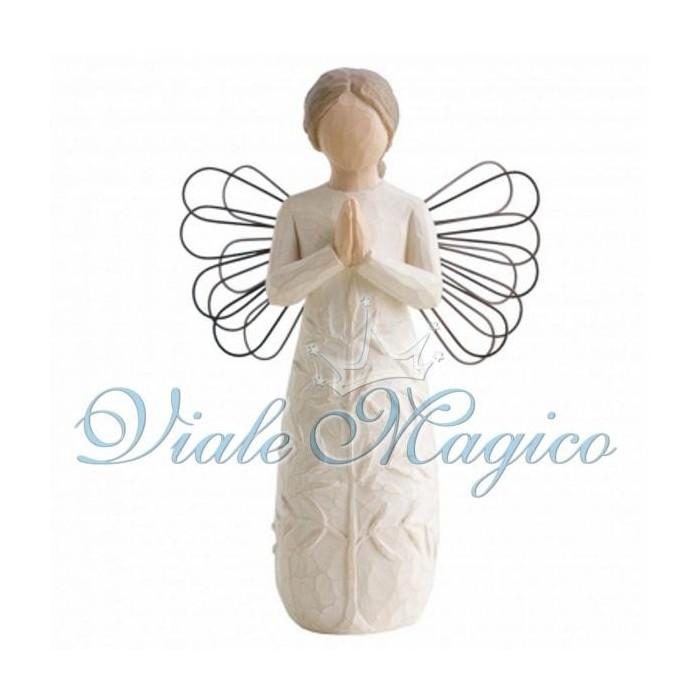 Statuina Donna Angelo in Preghiera