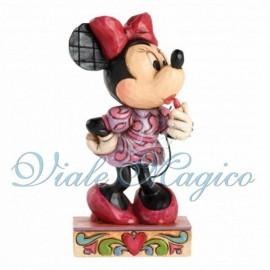 Statuina Disney Minnie con Rossetto per Bimba