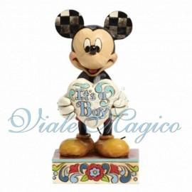 Statuina Disney Topolino per Nascita Bimbo